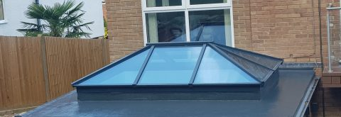 Fibreglass Roofing with Work Smart